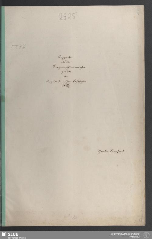 Vorschaubild von Aufgaben aus der Bergmaschienenlehre - 18.7600 4.
