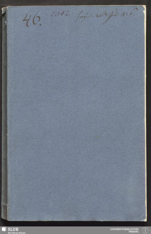 Vorschaubild von Aufbereitungs-Bericht von Himmelfahrt samt Abraham Fdg. vor dem Donatsthore gelegen - 18.6694 4.