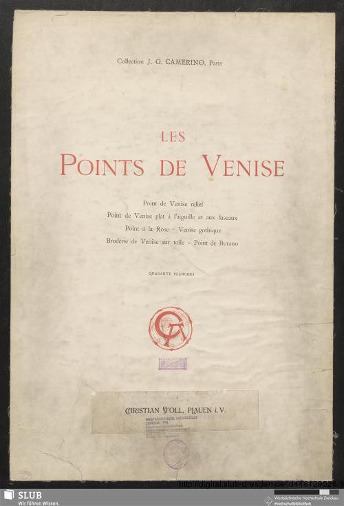 Vorschaubild von Les points de Venise