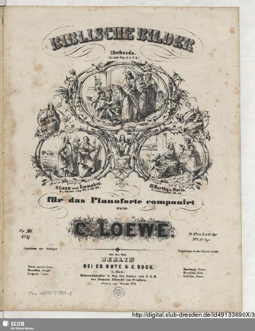 Vorschaubild von II. Gang nach Emmahus Ev. Lucae, Cap. 24, V. 28 - 29)