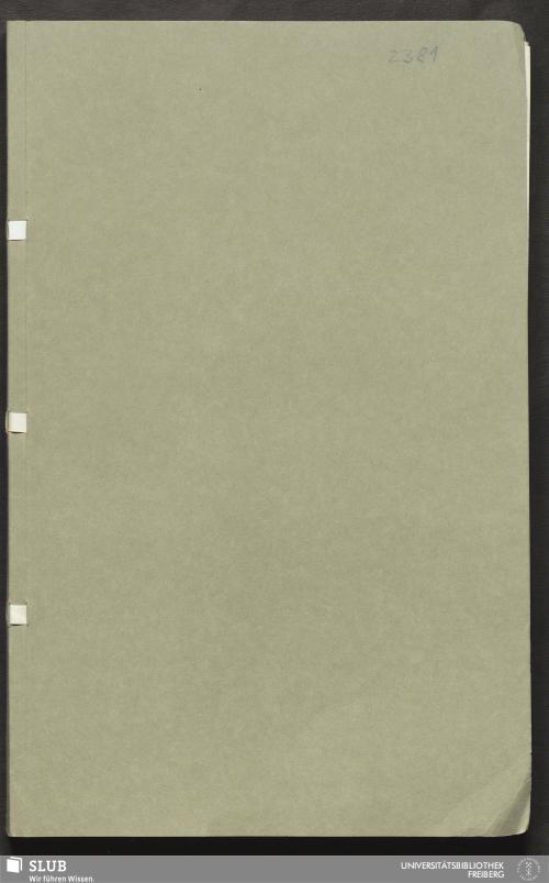Vorschaubild von Aufbereitungsbericht von Alte Mordgrube Fdgr. - 18.7033 4.