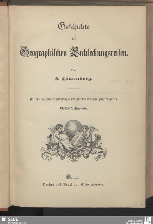Vorschaubild von Geschichte der Geographischen Entdeckungsreisen
