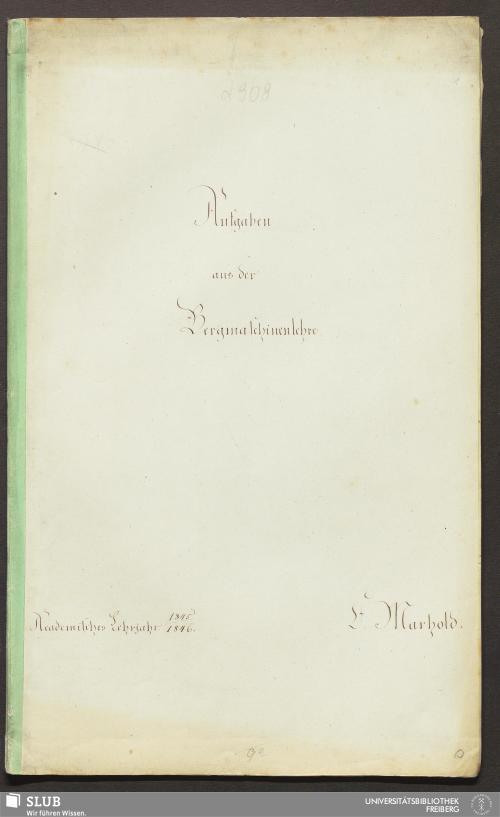 Vorschaubild von Aufgaben aus der Bergmaschinenlehre - 18.7583 2.