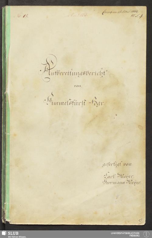 Vorschaubild von Aufbereitungsbericht von Himmelsfürst Fdgr. - 18.7115 4.