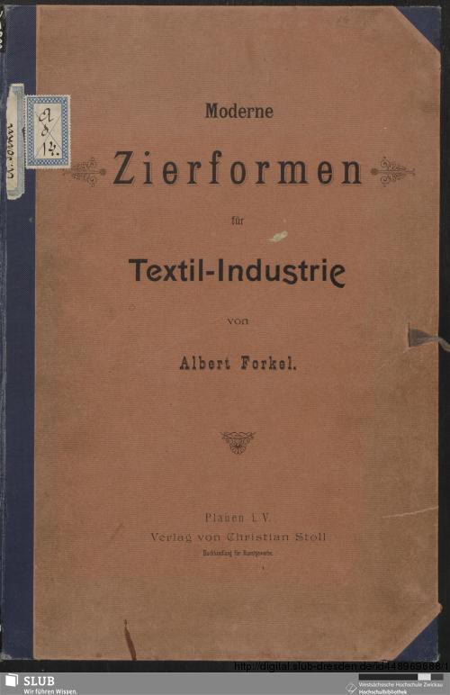 Vorschaubild von Moderne Zierformen für Textil-Industrie