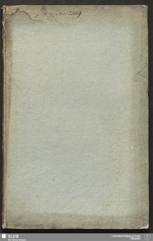 Vorschaubild von Anwendung der Mathematick auf verschiedene Arbeiten des Grubengebäudes in Himmelsfürst Fundgrube - 18.6841 4.