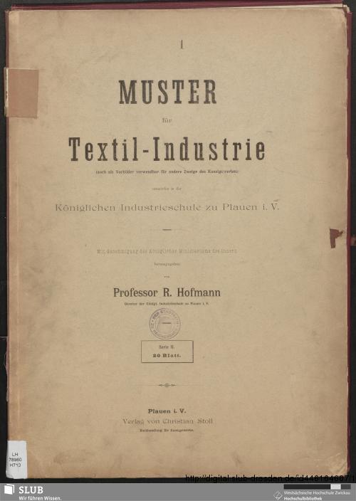 Vorschaubild von Muster für Textil-Industrie