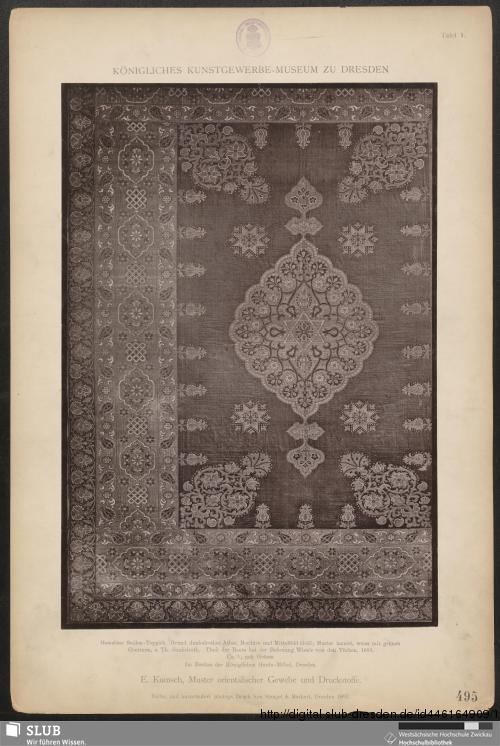 Vorschaubild von Muster orientalischer Gewebe und Druckstoffe