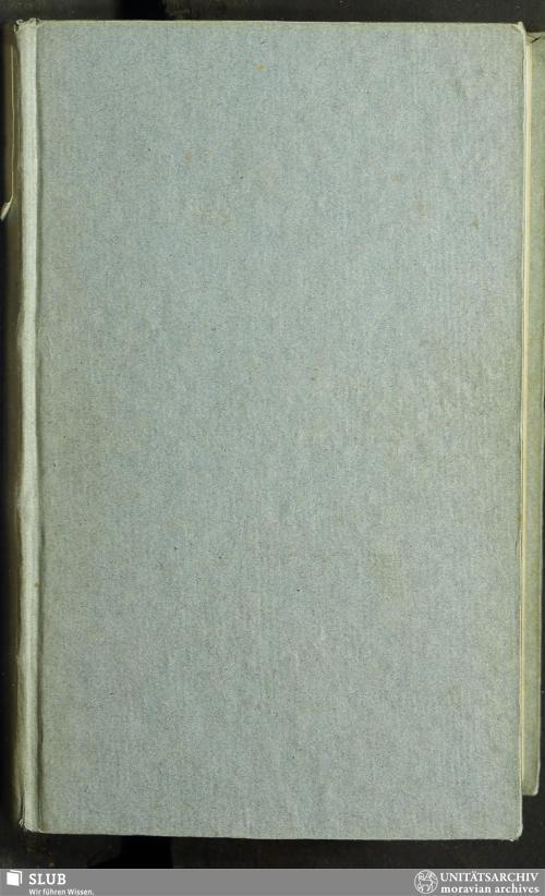 Vorschaubild von Erster Theil der Gemein-Nachrichten 1807. - GN.A.355
