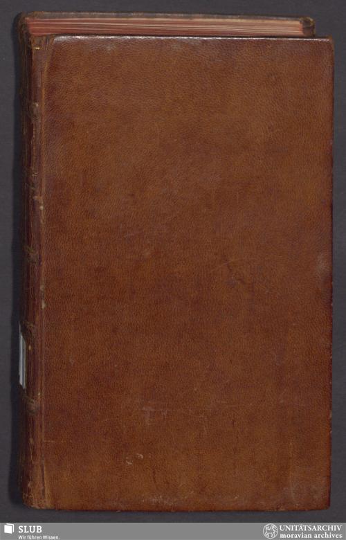 Vorschaubild von Der Gemein-Nachrichten 1765. Erster Theil, die merkwürdigsten historischen Umstände enthaltend - GN.A.109