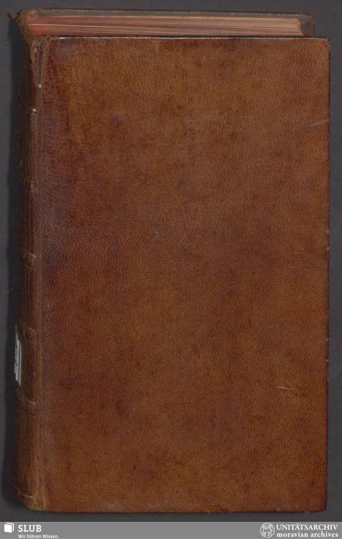 Vorschaubild von Der Gemein-Nachrichten 1765 - GN.A.110