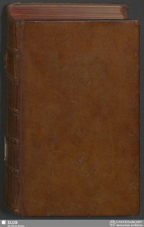 Vorschaubild von Der Gemein-Nachrichten 1765 - GN.A.112
