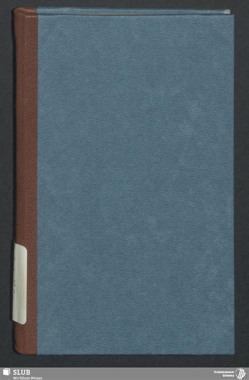 Vorschaubild von Wanderbuch für den Kupferschmiedegesellen Karl Wilhelm Neuberg aus Grimma - BId 119