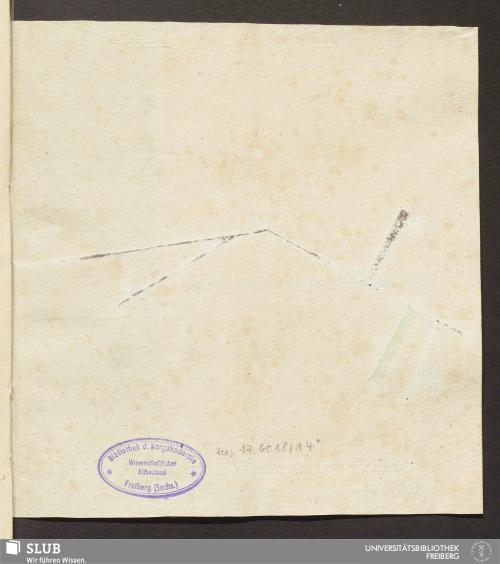 Vorschaubild von Aufstand oder Gruben Bericht über das Berg und Gruben Gebäude Moritz - 17.6018 4.