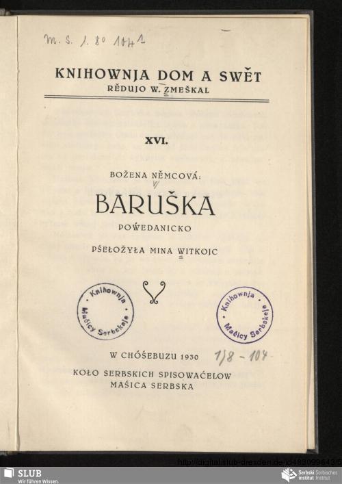 Vorschaubild von Baruška