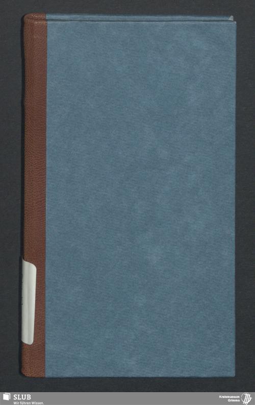 Vorschaubild von Wanderbuch für den Drechslergesellen August Ferdinand Noack aus Grimma - BId 118