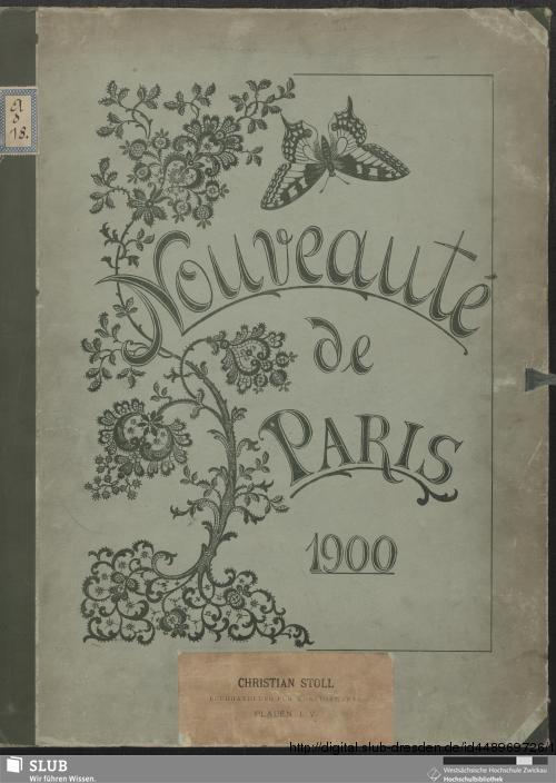 Vorschaubild von Nouveaute de Paris 1900