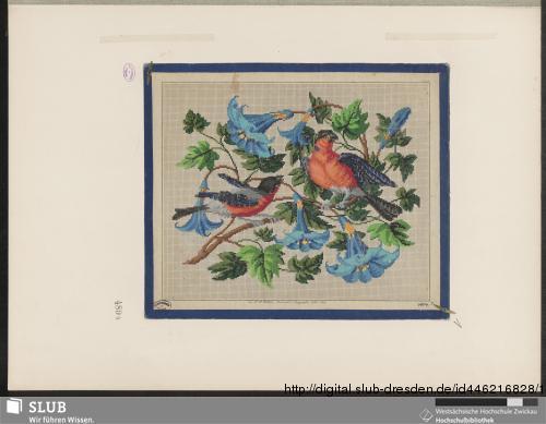 Vorschaubild von Originalentwürfe für Kreuzstich-Stickereien