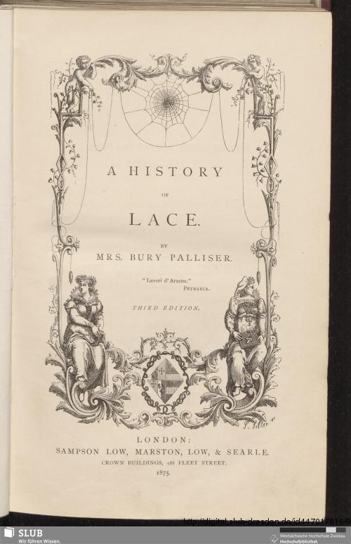 Vorschaubild von A history of lace
