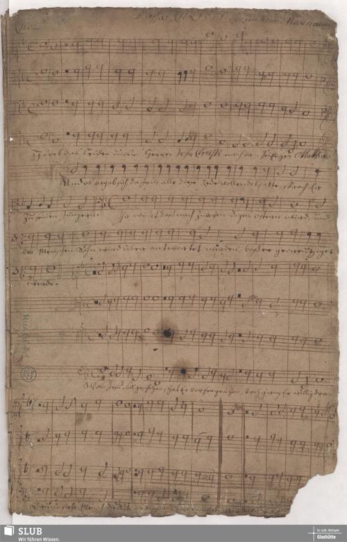 Vorschaubild von Passio secundum Matthaeum - Mus.Gl.3,1 - Mus.Gl.3,1a