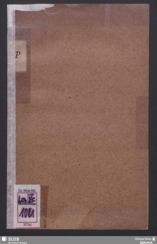 Vorschaubild von Petition an die Hohe Ständeversammlung des Königreichs Sachsen und zunächst an die zweite Hohe Kammer