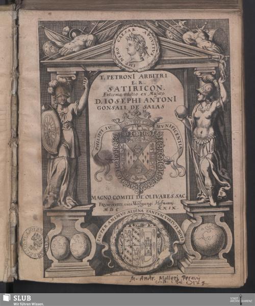 Vorschaubild von T. Petroni[i] Arbitri E. R. Satiricon