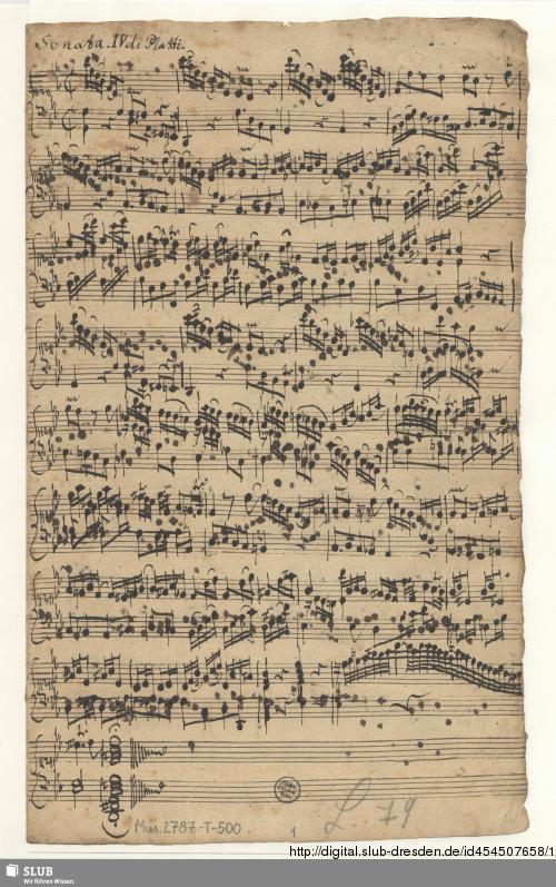 Vorschaubild von 6 Sonatas - Mus.2787-T-500