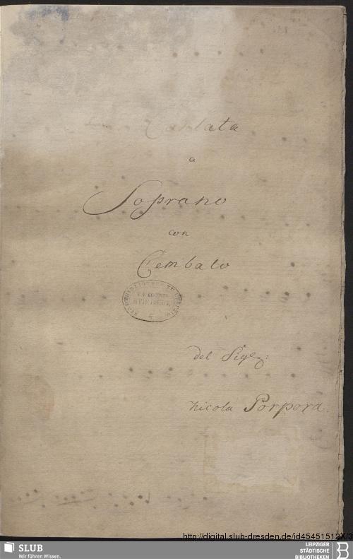 Vorschaubild von 5 Cantatas - Becker III.5.24