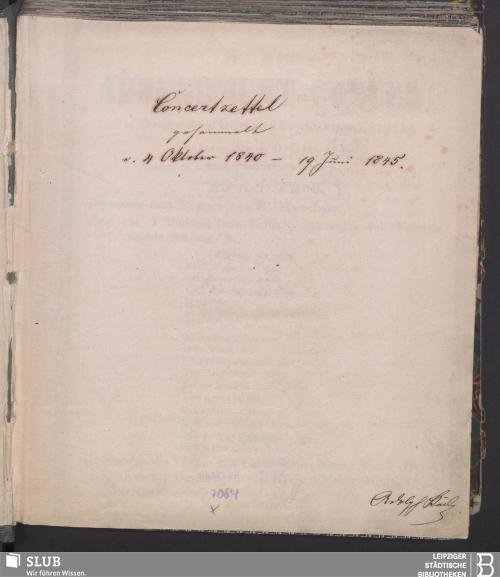 Vorschaubild von 1840 - 1845