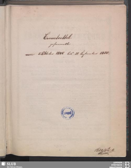 Vorschaubild von 1845 - 1850