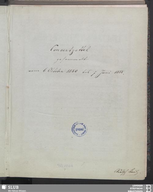 Vorschaubild von 1850 - 1855