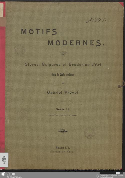 Vorschaubild von [Motifs modernes]