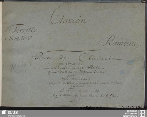 Vorschaubild von 5 Concertos - Becker III.9.36