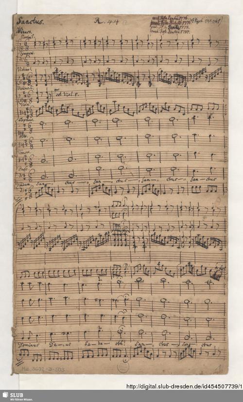 Vorschaubild von 3 Sacred songs - Mus.3602-D-505 - Mus.3602-D-505a