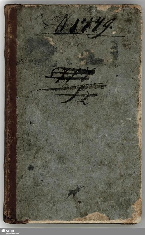 Vorschaubild von Wanderbuch für den Bäckergesellen Carl Heinrich Reichel aus Großolbersdorf, No. 27