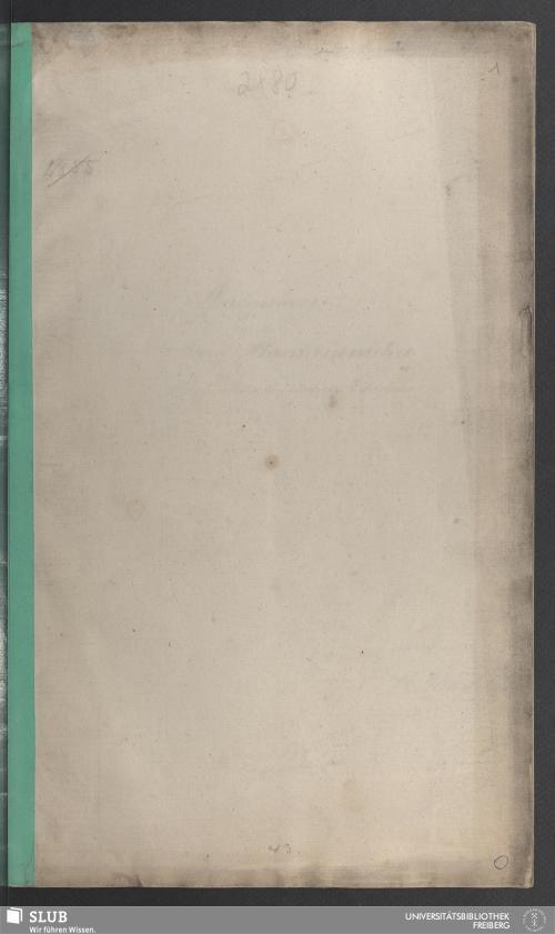 Vorschaubild von Aufgaben aus der Berg-Maschinenlehre im bergacademischen Lehrcours 1837/38 - 18.7554 2.
