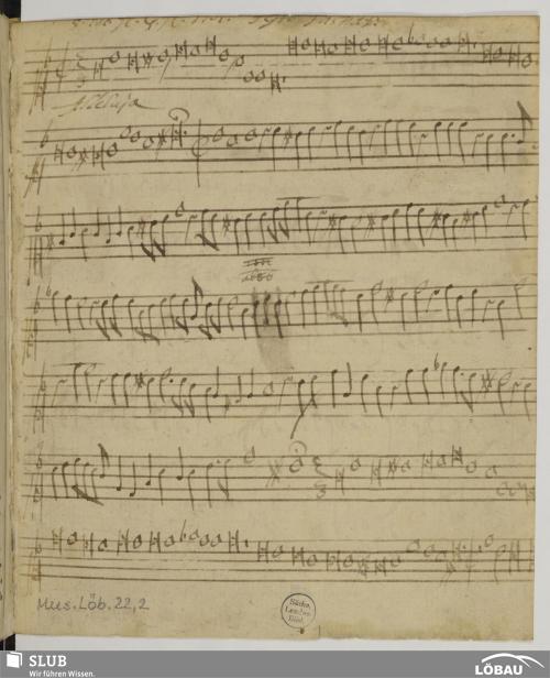 Vorschaubild von 3 Motets - Mus.Löb.22,2
