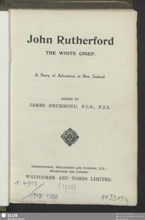Vorschaubild von John Rutherford The white chief