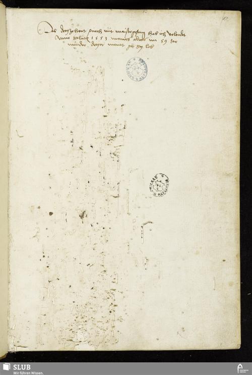 Vorschaubild von Das dreyzehent puech mit maistergesang hab ich volendet Anno salutis 1553 meines alters im 59 Jar minder dreyer monat got sey lob - MG 13