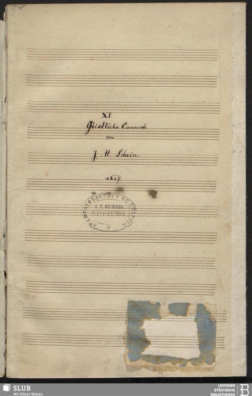 Vorschaubild von 11 Sacred concerts - Becker III.2.217
