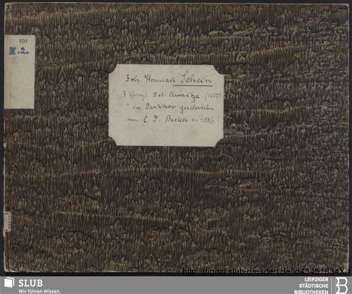 Vorschaubild von 7 Sacred songs - Becker III.2.161