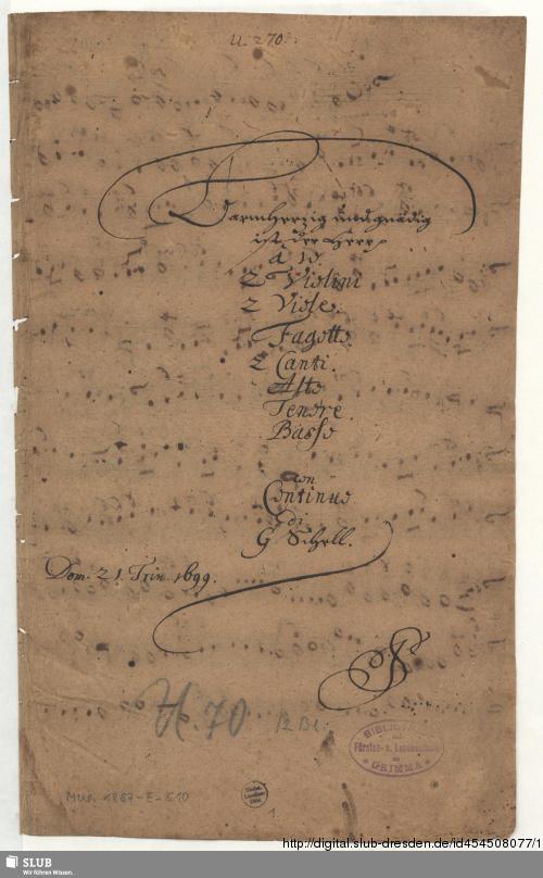Vorschaubild von Barmherzig und gnädig ist der Herr - Mus.1857-E-510