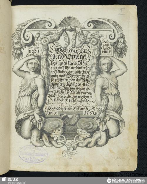 Vorschaubild von Adelicher Tugendspiegel - SH III 68