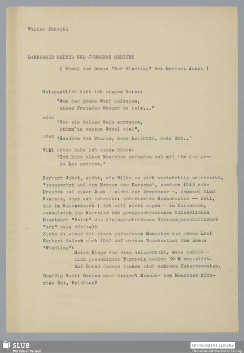 Vorschaubild von Bamberger Reiter und Jüngstes Gericht