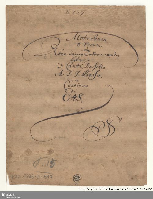 Vorschaubild von Aber deine Toten werden leben - Mus.1696-E-517