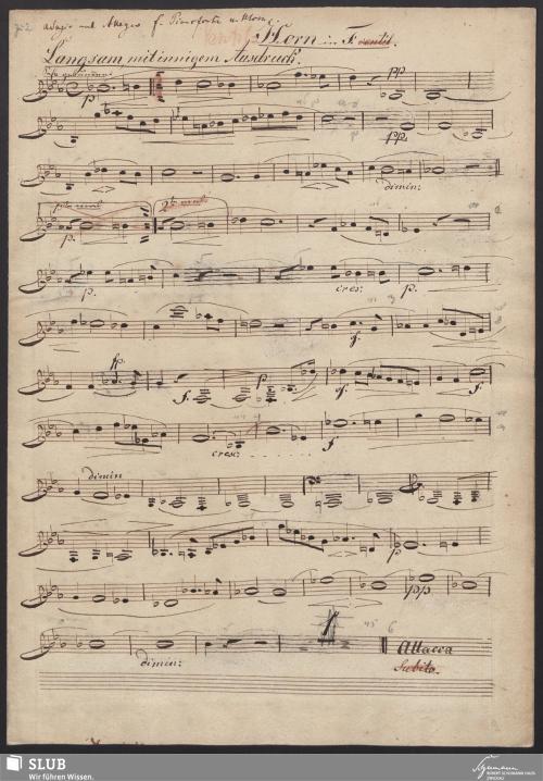 Vorschaubild von [Hornstimme] - 2,b-A1
