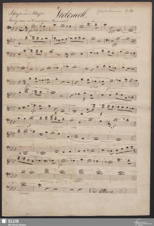 Vorschaubild von [Violoncellostimme] - 2,c-A1