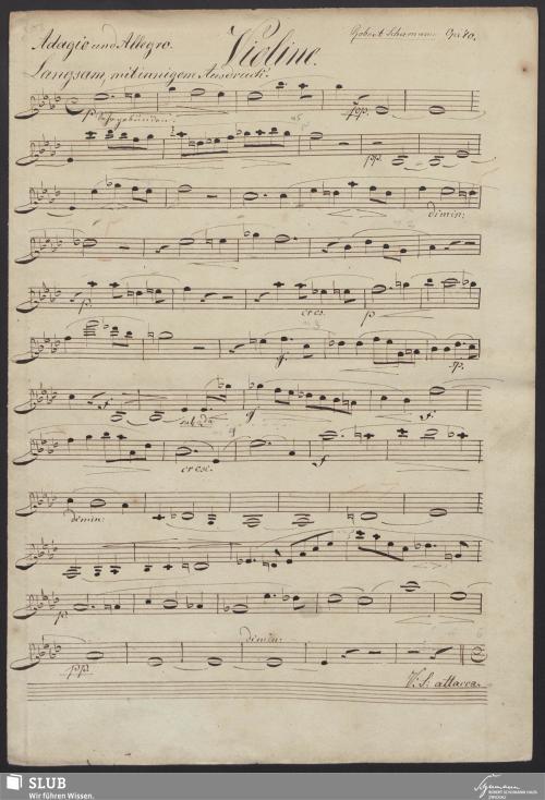 Vorschaubild von [Violinstimme] - 2,d-A1
