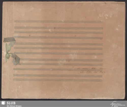 Vorschaubild von An meinen lieben Mann zum 8ten Juni 1843. - 5987-A1