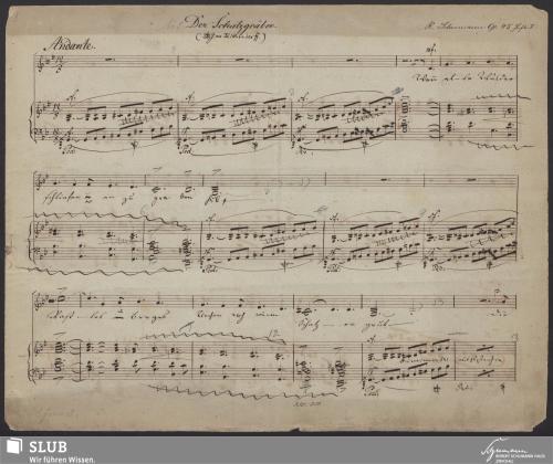 Vorschaubild von Balladen und Romanzen für eine Singstimme mit Begleitung des Pianoforte - 2002.27-A1